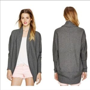 Aritzia Wilfred Diderot Grey Studded Cardigan M